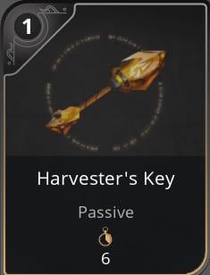 paragon harvester key