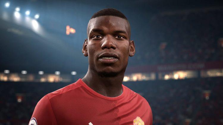FIFA 17 shows off Pogba in his Man Utd colours