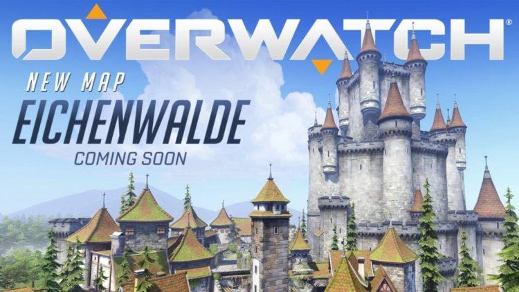Overwatch Eichenwalde video trails new map