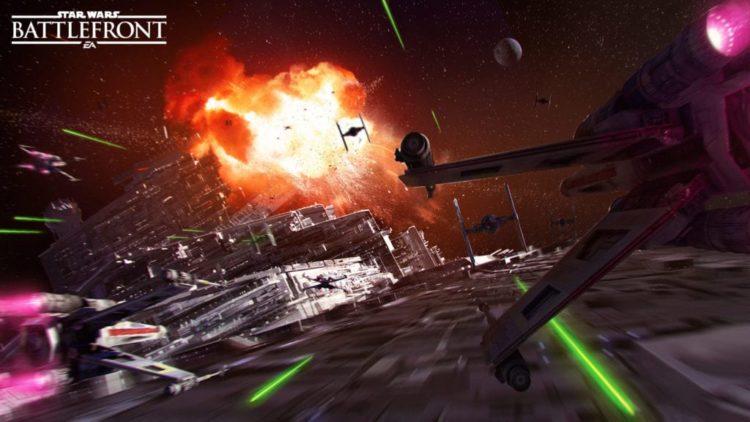 Star Wars: Battlefront gets space-based mode in Death Star DLC