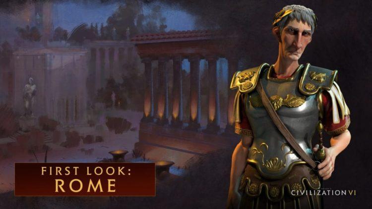 Civilization VI trailer roams around Rome