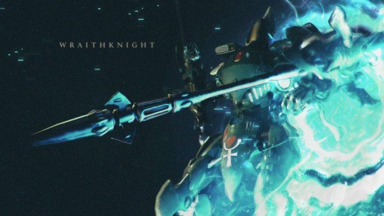 Dawn of War 3 shines a light on the Wraithknight