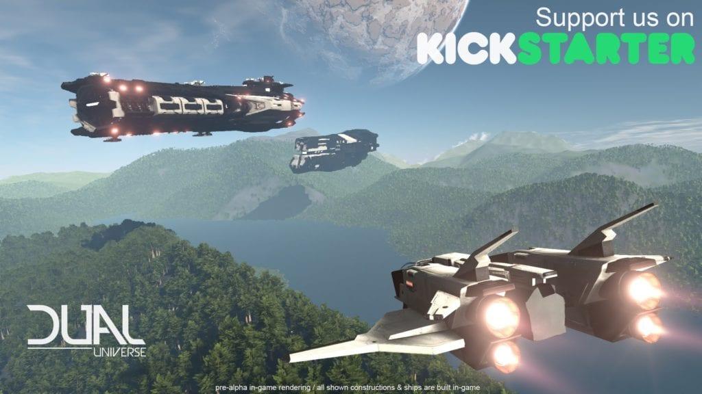 DUAL Universe sci-fi sandbox MMO heads to Kickstarter