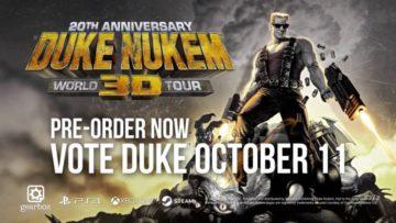 Duke Nukem 3D Anniversary Edition World Tour details revealed