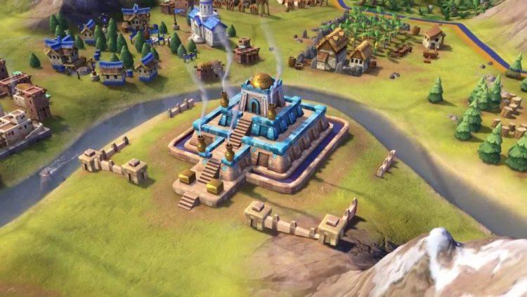 Gilgamesh leads Sumeria in Civilization VI