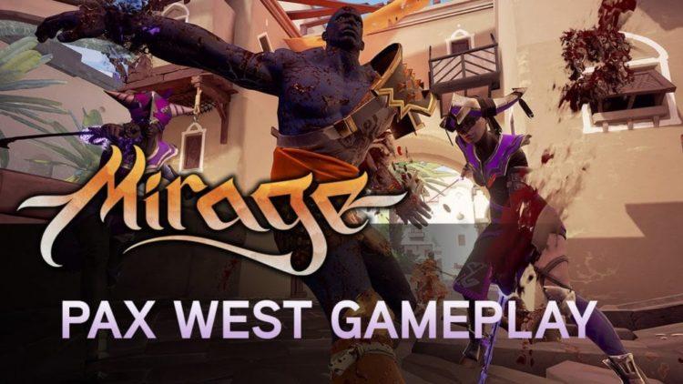 Watch new Mirage: Arcane Warfare gameplay from Torn Banner