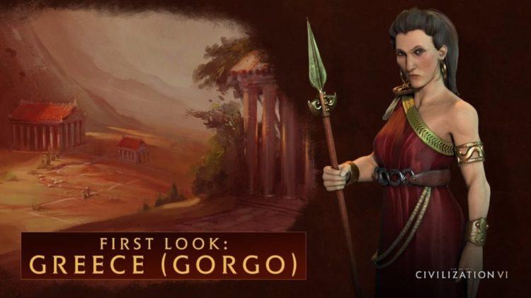 Civilization VI video shows Greece's alternate leader Gorgo