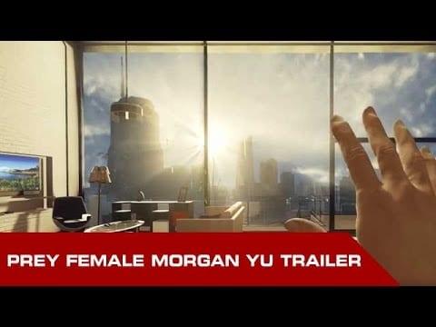 Female version of Prey trailer with Morgan Yu released