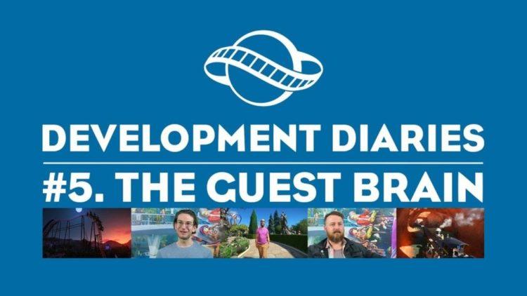 Planet Coaster devs discuss the 'Guest Brain' AI in new trailer