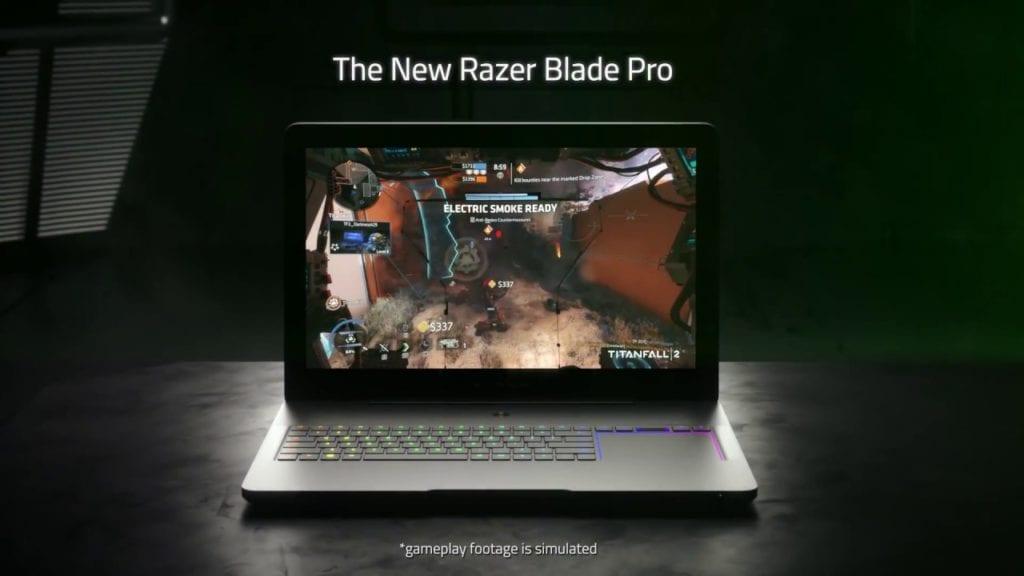 Razer reveals new Razer Blade Pro 1080 powered laptop