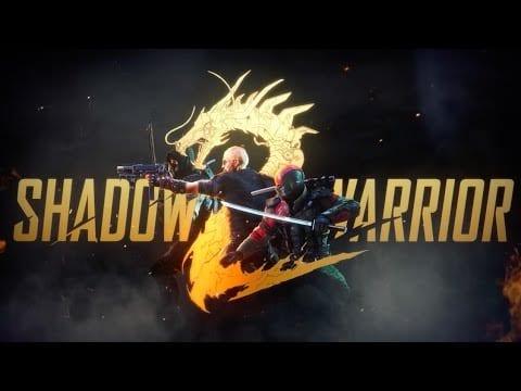 Shadow Warrior 2 launch trailer has both Bush and Wang