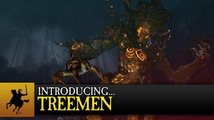 Total War: Warhammer trailer logs some time with Treemen