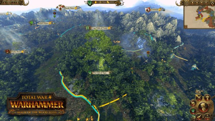 Total War: Warhammer details Wood Elf council system
