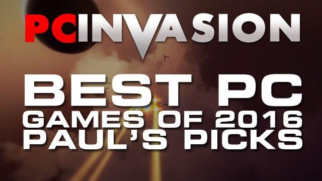 Best PC Games 2016