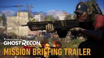 Ghost Recon Wildlands gets a mission briefing trailer