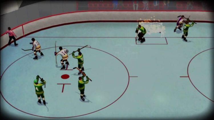 Old Time Hockey bringing back old-school arcade ice hockey