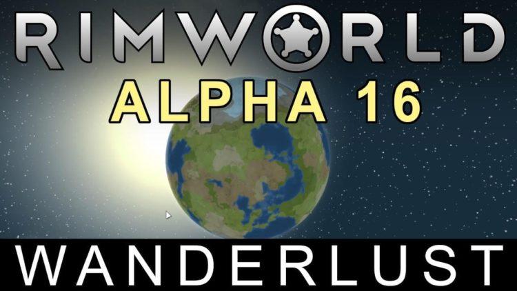 RimWorld Alpha 16 adds planetary wandering