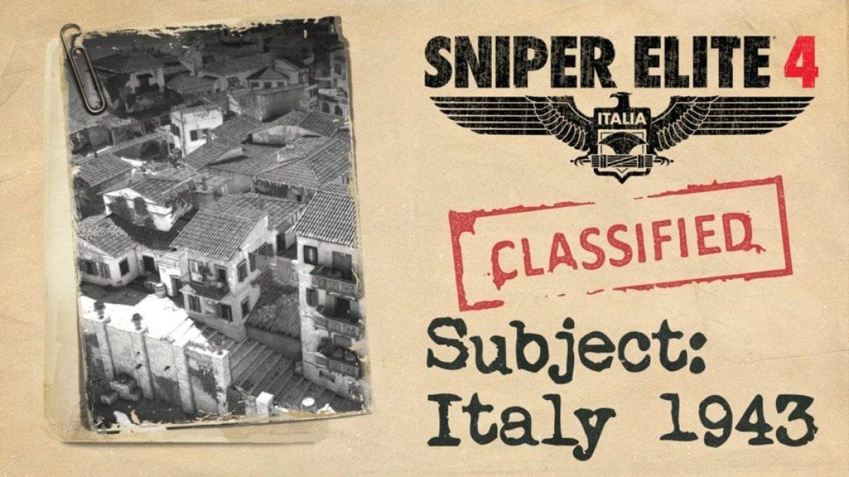 Sniper Elite 4 story trailer sets the scene