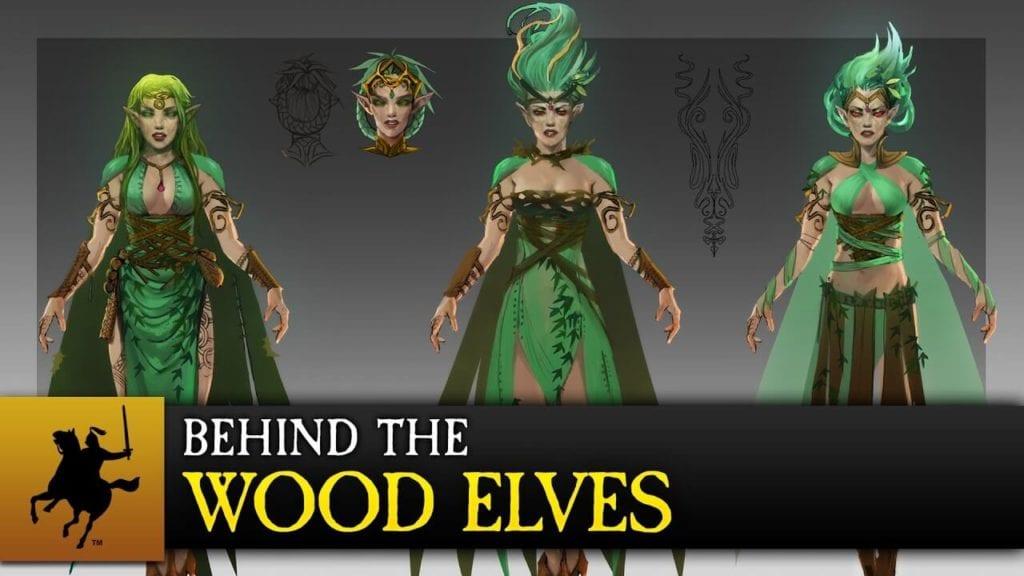 Total War: Warhammer video looks at Wood Elf development