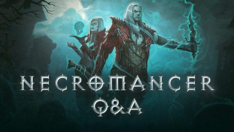 Diablo 3 Necromancer Q&A next week