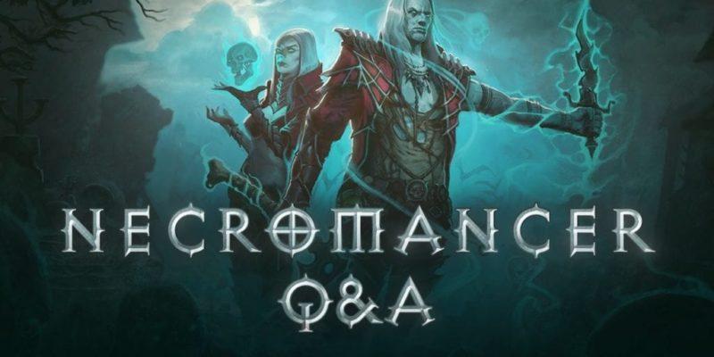 Diablo 3 Necromancer Blizzard Q&A summarised