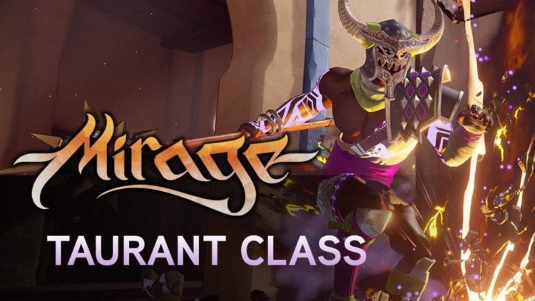 Mirage: Arcane Warfare Taurant class on show