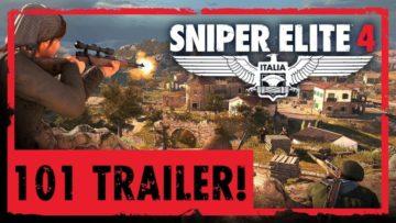 Sniper Elite 4 gets new 101 gameplay trailer