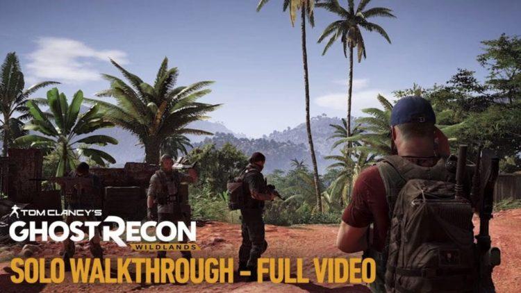 Watch a Ghost Recon: Wildlands single player mission walkthrough