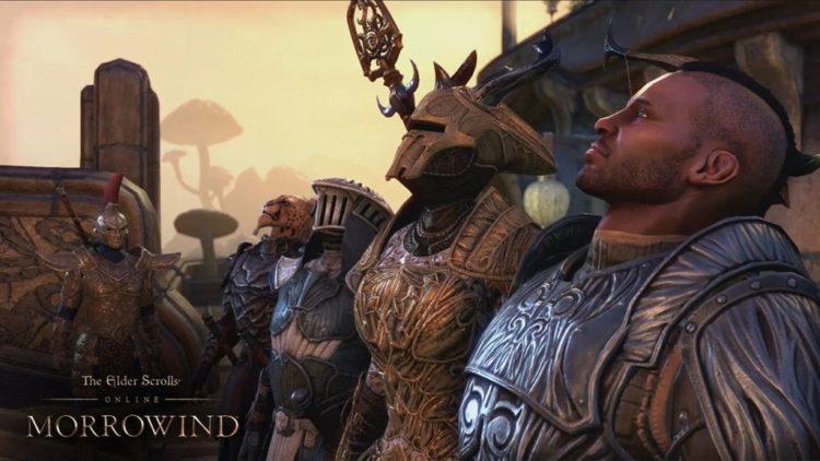 Elder Scrolls Online trailer takes first in-game look at Morrowind