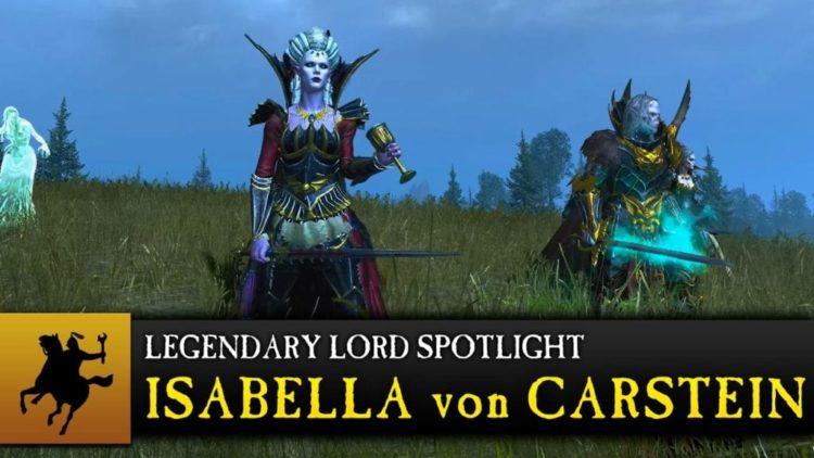 Isabella von Carstein gameplay details in new Total War: Warhammer video