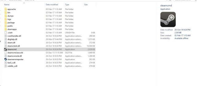 steam-files-640x281 How to setup a Conan Exiles dedicated server
