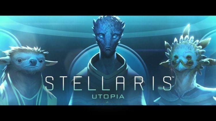 Stellaris strives for Utopia in April