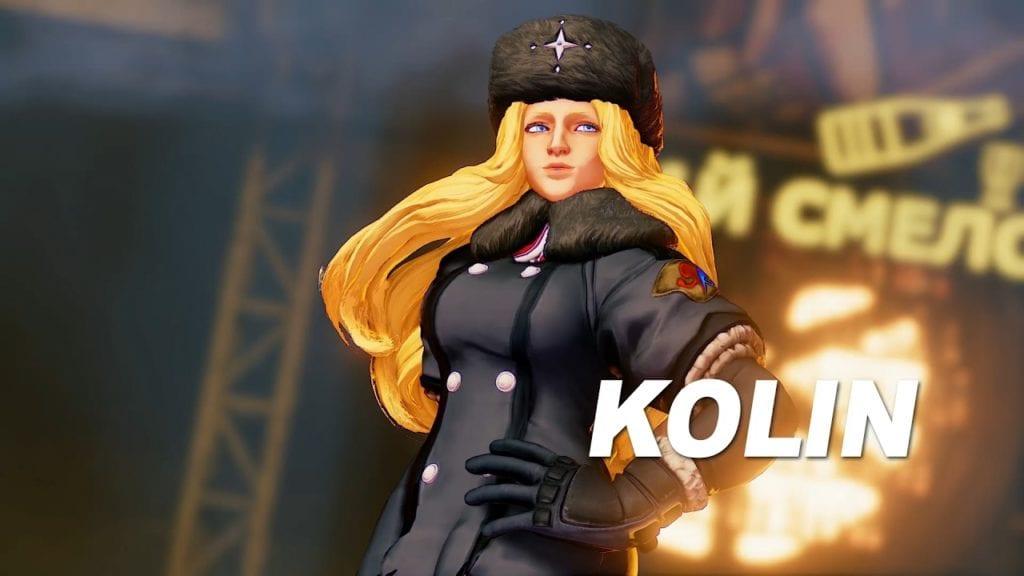 Street Fighter V adds Komrade Kolin to the game 28 Feb