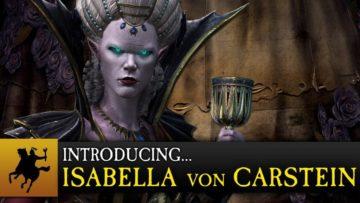 Total War: Warhammer trails Isabella von Carstein