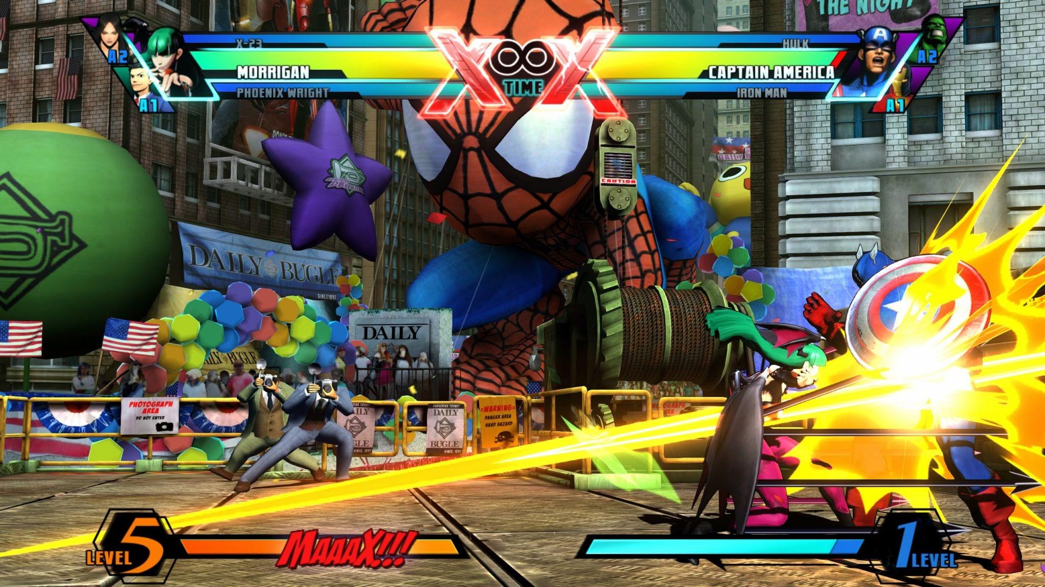 Ultimate Marvel vs Capcom 3 PC Technical Review   PC Invasion   2048 x 1152 jpeg 408kB