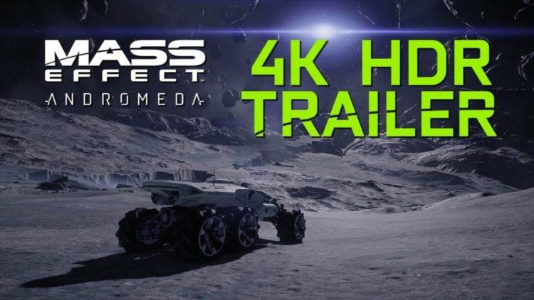 Mass Effect: Andromeda Nvidia 4K tech video
