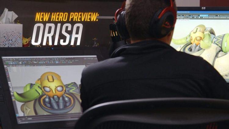 Orisa comes to Overwatch next week