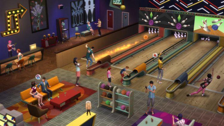 The Sims 4 Bowling Night Stuff coming next week