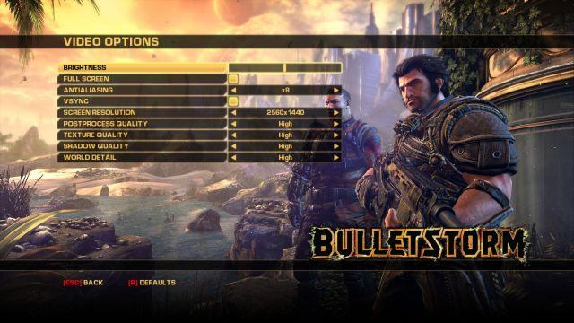 Bulletstorm-options-2-640x360 Bulletstorm: Full Clip Edition Technical Review