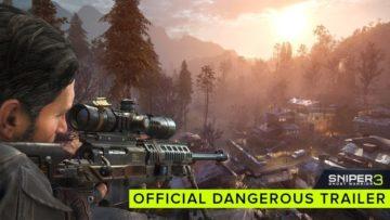 Sniper Ghost Warrior 3 trailer gets dangerous