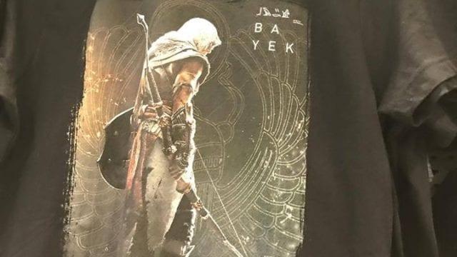 Assassin's Creed Origins hero apparently confirmed via t-shirt
