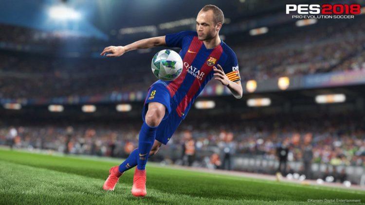 PES 2018 in September, Konami promise proper PC version