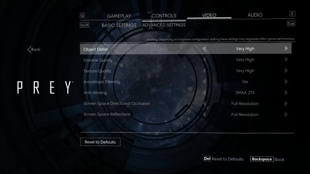 prey-gfx-2-640x360 Prey PC Technical Review