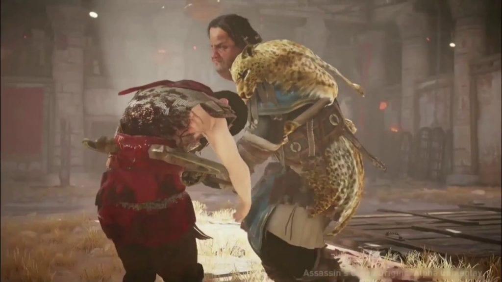 Assassin's Creed: Origins E3 2017 gladiator combat and boss video