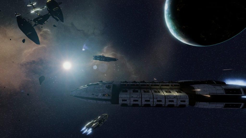 Battlestar Galactica Deadlock Interview Q&A with Black Lab