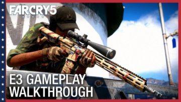 Far Cry 5 has a new shooty gameplay trailer