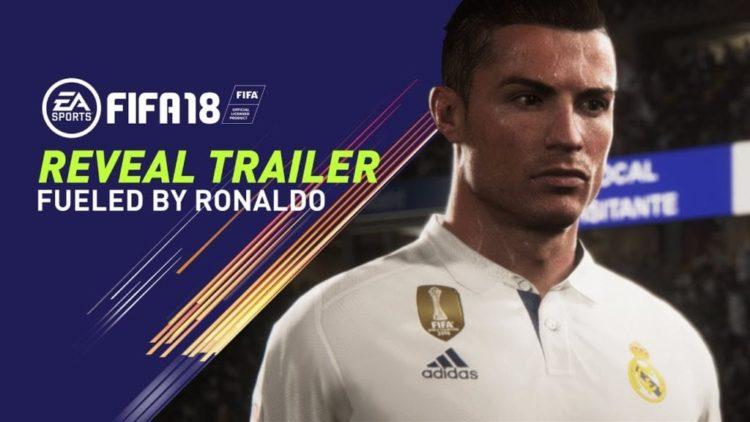 FIFA 18 trailer headlined by a sweaty Ronaldo