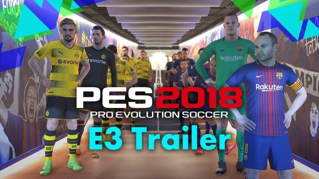 PES 2018 E3 trailer has the balls to include Usain Bolt