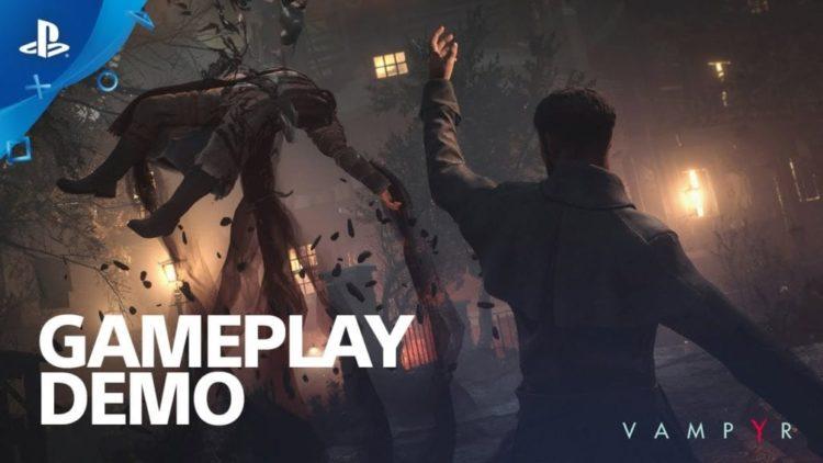 Watch ten minutes of Vampyr gameplay