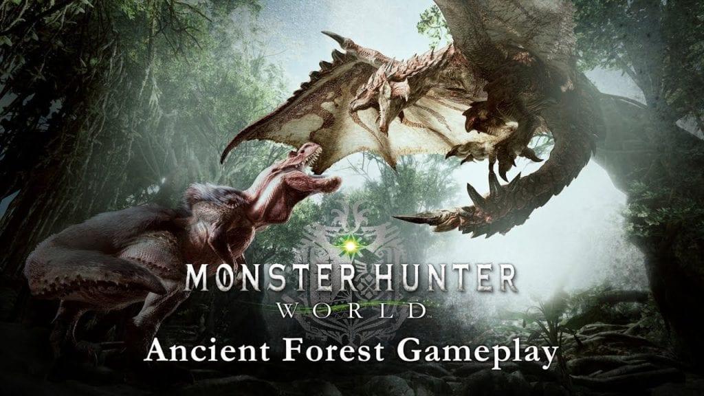 Monster Hunter World video shows full Anjanath hunt
